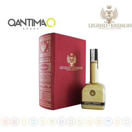 Vodka Legend of Kremlin Gold Pack, Qantima Group
