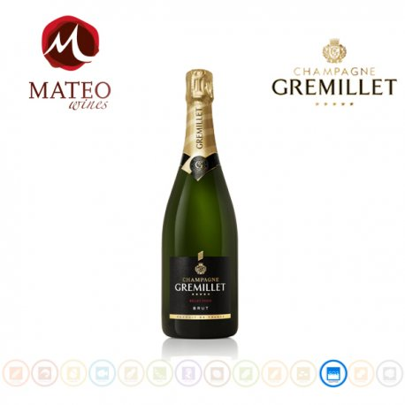 Champagne Gremillet Brut Selección, Mateo Wines