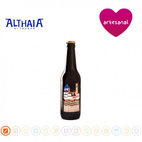 Cerveza Artesana Brown Ale, Althaia