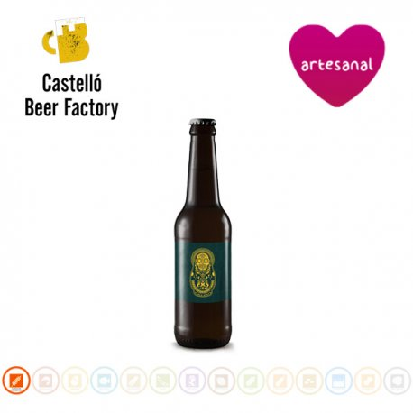 Cerveza MOKA SHINNING Imperial Stout, Castelló Beer Factory